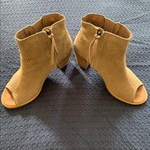 TOMS Majorca Peep Toe Booties